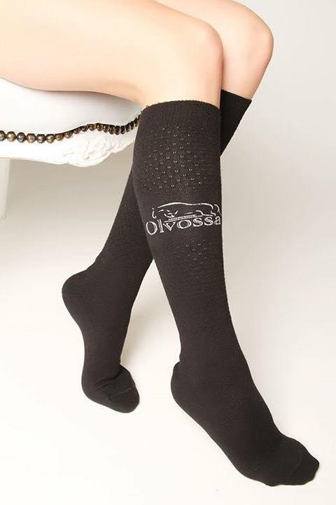 Black Riding Socks