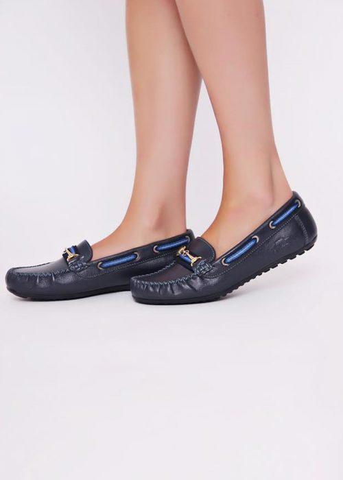 Navy Blue deck Shoes