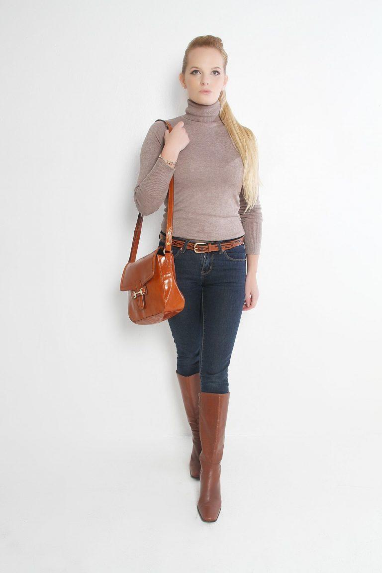 Snaffle Leather Handbag
