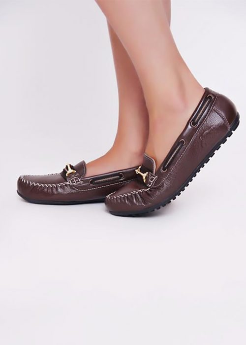 Brown Deck Shoes